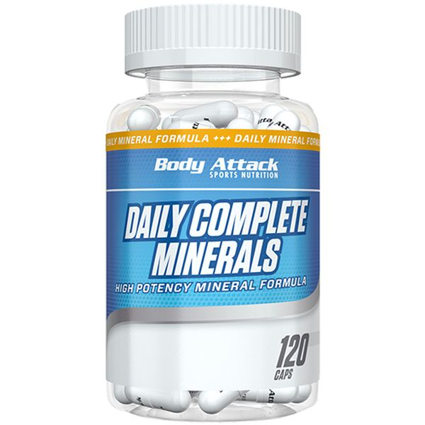 Body Attack - Daily Complete-Minerals - 120 Kapseln