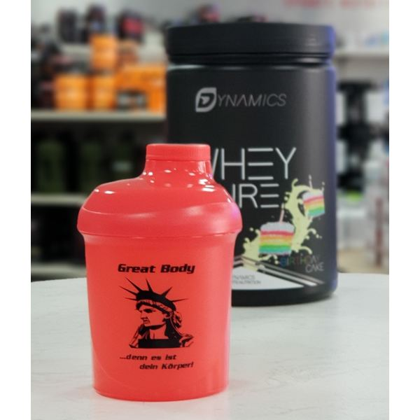 Great Body - Shaker - 300ml Orange
