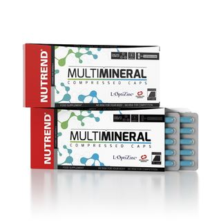 Nutrend - MULTIMINERAL COMPRESSED CAPS - 60 Kapseln
