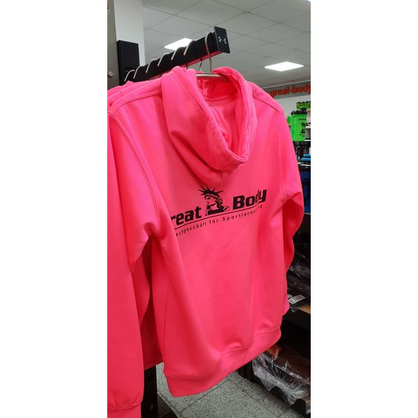 Great Body - Hoodie Electric Pink