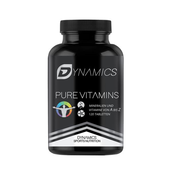 Dynamics Nutrition - Pure Vitamins - 120 Tabletten