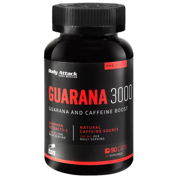 Body Attack - Guarana 3000 - 90 Kapseln