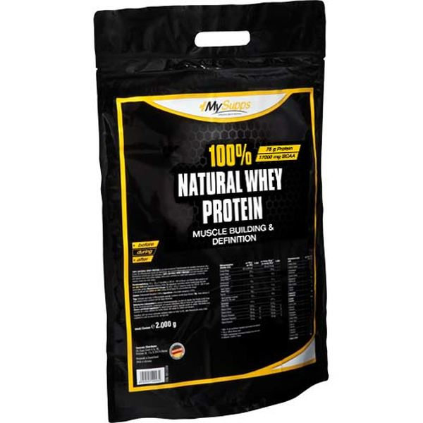 My Supps - Natural Whey Protein - 2000g